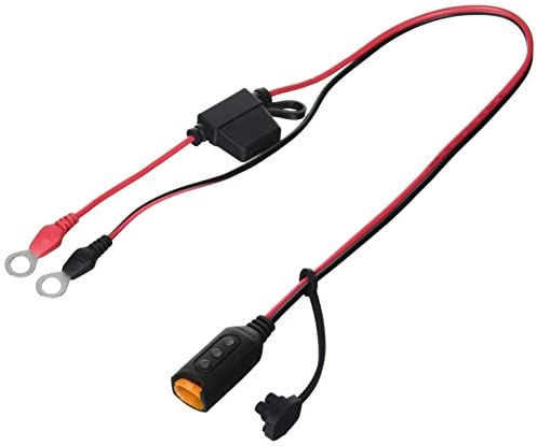Ctek Indicator Eylet M8 Praktischer Ringösen Anschluss Mit Live Anzeige Des Batterieladezustands Auto