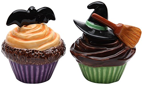 Halloween Cupcakes Saly and Pepper Set