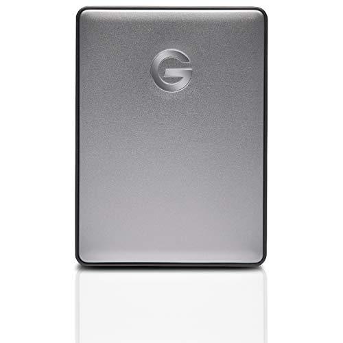 G-Technology G-Drive Mobile USB-C – Disco Duro Externo, 5TB, Gris Espacial