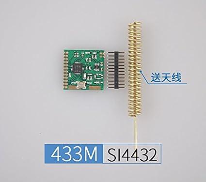 2 pcs lot long distance 1KM 433M spring antenna SI4432 wireless module