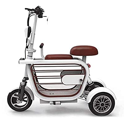 TRPYA Electric Scooter -Up to 24.8 Miles & 15 MPH,Aluminum Alloy Body, Long Battery Life, High-Power Motor, Positive Three-Wheel Structure, Portable Folding Commuting Scooter : Sports & Outdoors