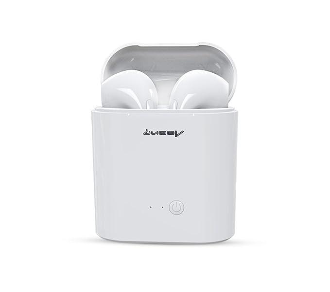 LUOOV Auriculares Bluetooth In-Ear Wireless Auriculares Estéreo Auriculares Inalámbricos Deportivos Auriculares Inalámbricos para IOS