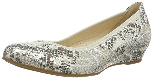 Gabor Shoes 62.69, Bailarinas Mujer Gris (Argento 20)