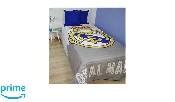 10XDIEZ Colcha Verano Real Madrid - Medidas colchas/edredones - Cama de 90cm: Amazon.es: Hogar