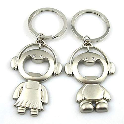 Dream Catcher Turqoise Plume Keychain Pompom Handbag Tote Bag Indian Design Charm Pendant Key Ring (2Pcs Couple Key ()