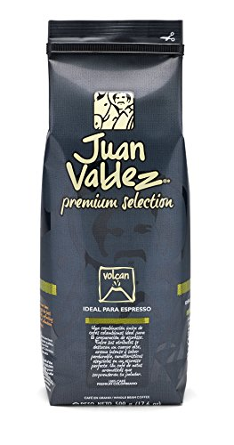 Juan Valdez Steep Strong Colombian coffee, Volcan Whole Bean, 17.6 oz