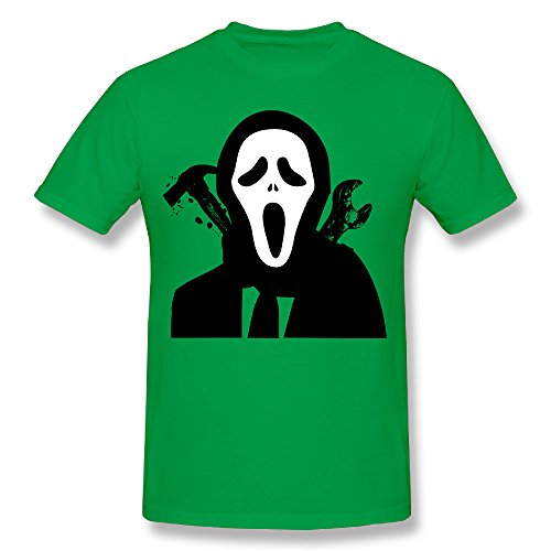 SNOWANG Men's Halloween For Fun T-shirt XL -