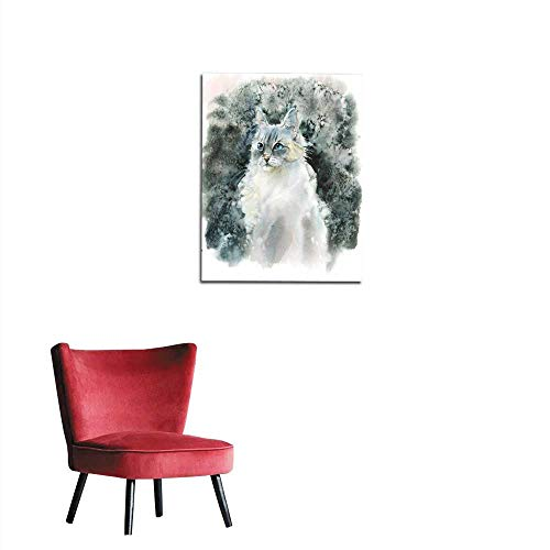 longbuyer Photo Wall Paper Siberian Pointed Cats Mural 24