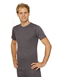 2 PACK: OCTAVE Mens Thermal Underwear Short Sleeve T-Shirt / Vest / Top