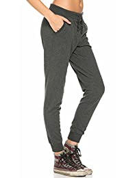 Classic Drawstring Jogger Pants in Charcoal (Plus Sizes Available)