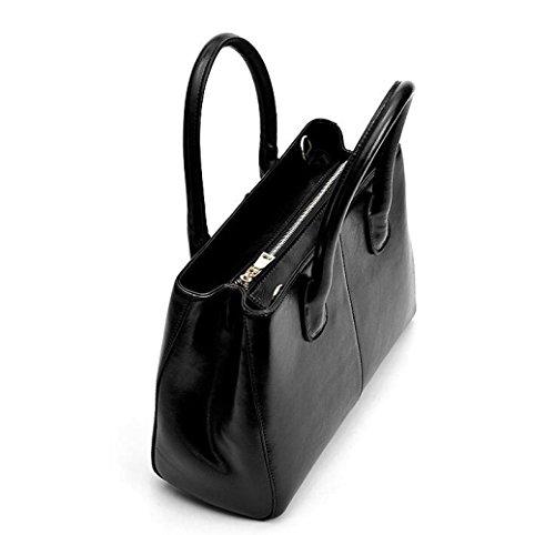 Mano De Mano Vaca Lady De La Bolso De De Aceite De De Bolso Big JPFCAK Bolso Bag Cera La Bag C Bolso De De Ms Señora Piel Cuero Y4xwxtqUv
