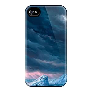 Rugged Skin Cases Covers For Iphone 6- Eco-friendly Packaging(castle On Hill)