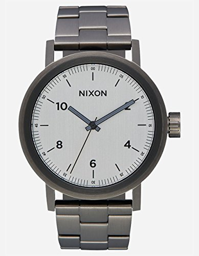 Nixon - Men's Stark Watch in Color: All Gunmetal / - Code Color Gunmetal