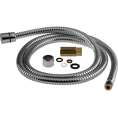 Delta RP25423 Hose with Full Flow Aerator and Adapter with Flow Control,