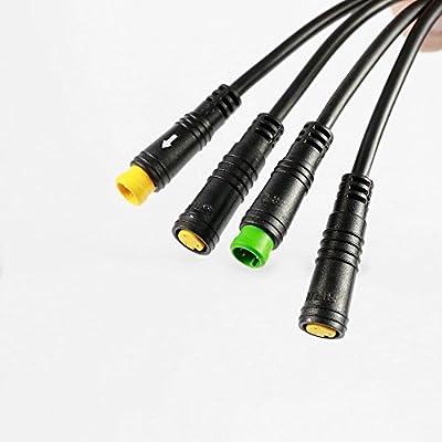 Bafang 1T4 Wiring Harness Cable for BBS01 BBS02 BBSHD mid-drive motor kits Higo