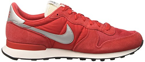 Internationalist Universität Running Compétition Chaussures Homme Silber de Metallisches Rouge Rot NIKE FqpaxSwS