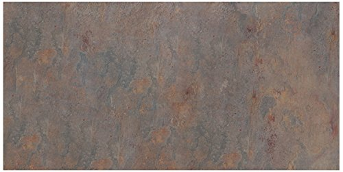 (Dal-Tile S77112241P- Slate Tile, Indian Multicolor Natural Cleft)