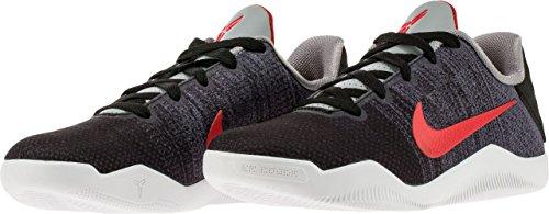 Nike Kobe Ragazzi Xi (gs) Scarpe Da Basket Raffreddare Grigio, Nero, Rosso