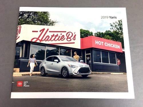 2019 Toyota Yaris 20-page Original Car Sales Brochure Catalog