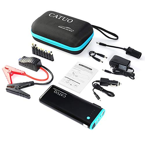 Moorecastle Portable Mini Slim 20000mAh Car Jump Starter Engine Battery Charger Power Bank