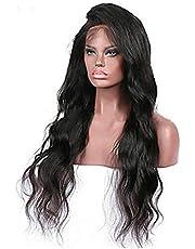 long natural Brazilian fluffy hair wig, color black , 2724666571176