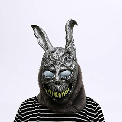 DeemoShop Animal Cartoon Rabbit mask Donnie Darko Frank The Bunny Costume Cosplay Halloween Party Maks Supplies by DeemoShop