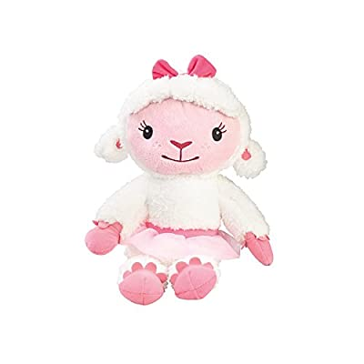 """Disney Doc McStuffins LAMBIE 14"""" Plush Doll Toy with Rattle: Toys & Games"""