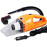 CARCARE Car Vacuum Cleaner 120W 12V Portable Wet & Dry Auto Vehicle Mini Handheld Vacuum Dirt Cleaner Dustbuster