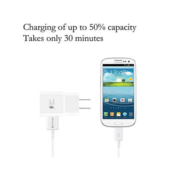 Galaxy-S7-Adaptive-Fast-Charging-Wall-Charger-Kit-Set-with-Micro-20-USB-Cable-Compatible-with-Samsung-Galaxy-S7S7-EdgeS6Note54-S3-White