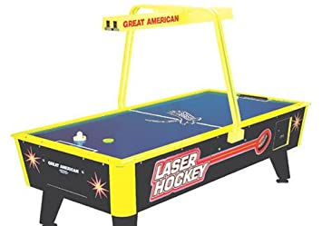 Amazon great american laser air hockey table with overhead great american laser air hockey table with overhead electronic scoring greentooth Choice Image