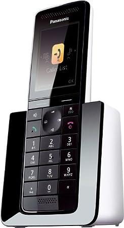 Panasonic KX-PRS110 DECT Identificatore di chiamata Nero, Bianco telefono KX-PRS110FRW