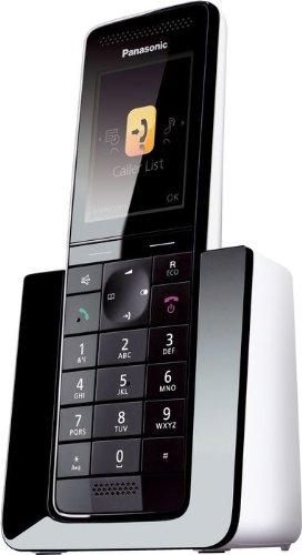 Panasonic KX-PRS110 - Teléfono Inalámbrico Digital Premium (LCD Color, Agenda de 300 números, Bloqueo de Llamadas, Modo Eco Plus, Modo No Molestar), ...