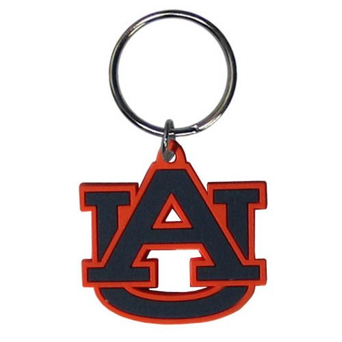 Siskiyou NCAA Auburn Tigers Team Logo Flex Key Chain]()