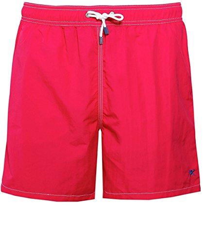 Hackett Men's Solid Volley Swim Shorts Raspberry L