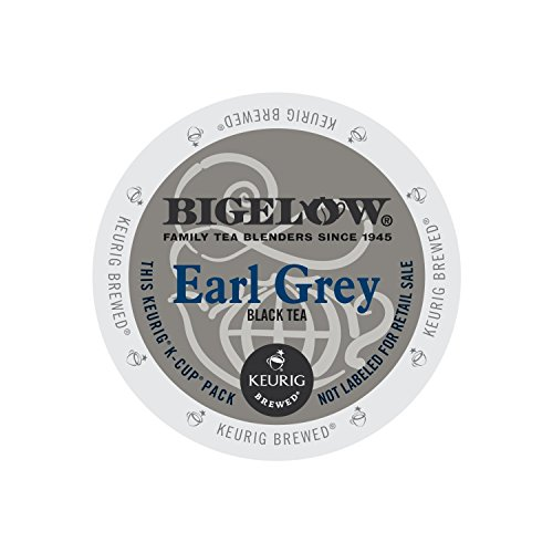 Bigelow Earl Grey Tea, 24-Count K-Cup Portion Pack for Keurig Brewers