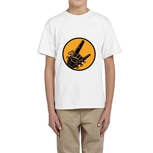 Guitar Kids Ringer T-shirt - 4