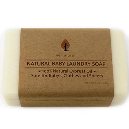 Price comparison product image All Natural Baby Laundry Soap Bar - Pack of 2. Stain Remover Baby Clothes,  Laundry Soap New Born,  Washing Bar Laundry,  Laundry Bar Soap for Travel,  Laundry Bar Soap for Underwear by Verteforet