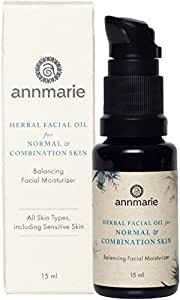 Annmarie Skin Care - Herbal Facial Oil for Normal and Combination Skin, 15ml