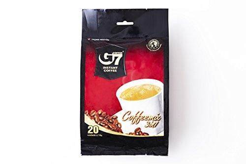 - G7 Instant Coffee 3-in-1, (20 Sachets x 16g)  11.3 oz/320g