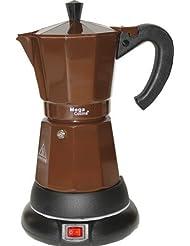 Electric Cordless Espresso Cuban Coffee Maker Adjustable 3 to 6 Cups Color COPER