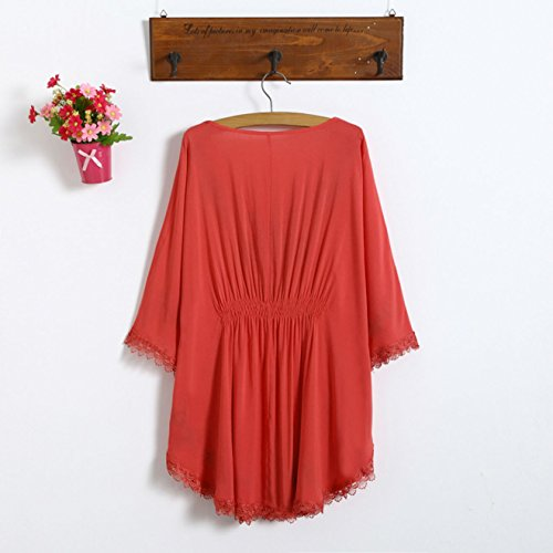 D-Pink - Camisas - Túnica - para mujer Coral