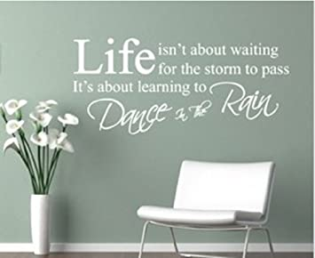 Dushang Life Isnt About Waiting For The Storm To Pass Its Learning