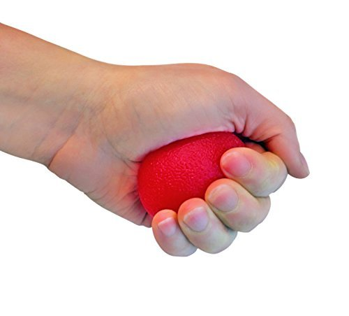 FlexFixx - Handmuskel-Trainer 4 Griffbälle inkl. Zubehör - 4in1 - Unterarmtraining, Fingertrainer, Therapieball + Antistressball für Frauen & Männer