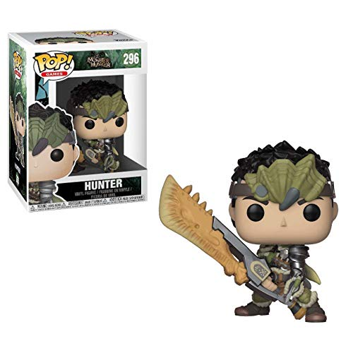 Funko Pop!- Games Monster Hunters Male Figura de Vinilo (27344)