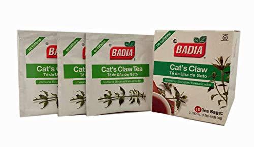 60 Bags Cat's Claw Tea Digestive, Immune Booster/Te una -uña de Gato Kosher ()