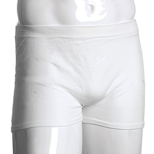 MediChoice Incontinence Underwear, Holds Liners and Pads in Place, Seamless Knit, Mesh, Polyester Spandex, XXXXL (Case of 100)