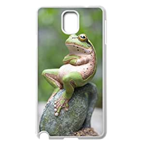 J-LV-F Customized Print Frog Hard Skin Case Compatible For Samsung Galaxy Note 3 N9000
