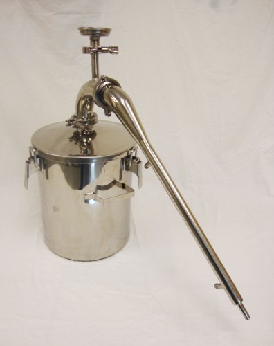 20 Liter Stainless Steel Essential Oil Distiller (Stainless Steel Distiller compare prices)