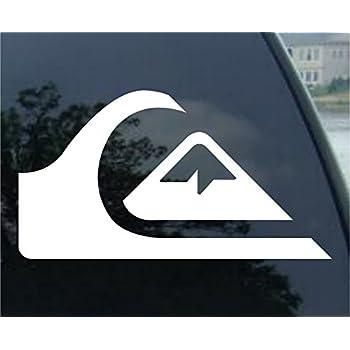 Amazon.com: Quiksilver Surf Car Window Vinyl Decal Sticker ...