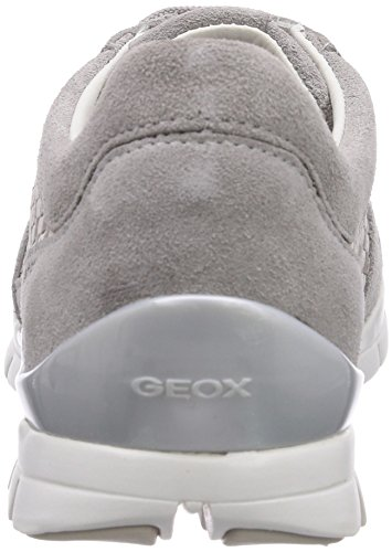 SUKIE Trainer Lt Grau Damen D Geox Greyc1010 Top A ​​Low Grau EwqUxzBY